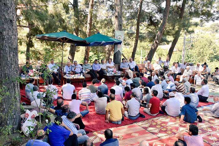 Nur talebeleri 'Muhabbet Pilavı'nda buluştu 1