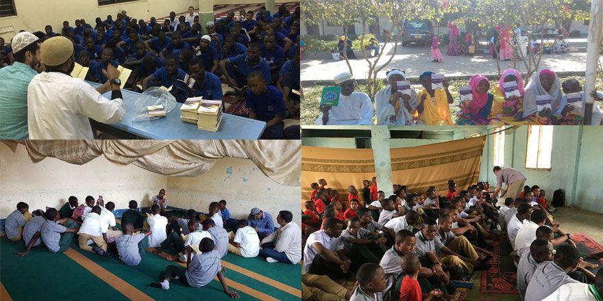 Tanzanya'nın Hıristiyan okullarında Risale-i Nur dersleri