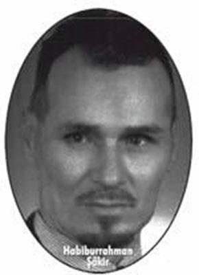 Said Nursi'nin Finlandiya'da bulunan talebesi Habiburrahman Şâ 1