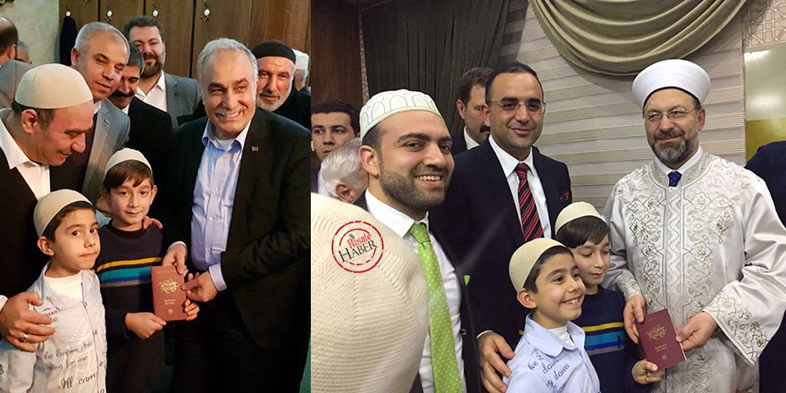 Fakıbaba ve Diyanet İşleri Başkanı Erbaş'a Risale-i Nur hediye edil