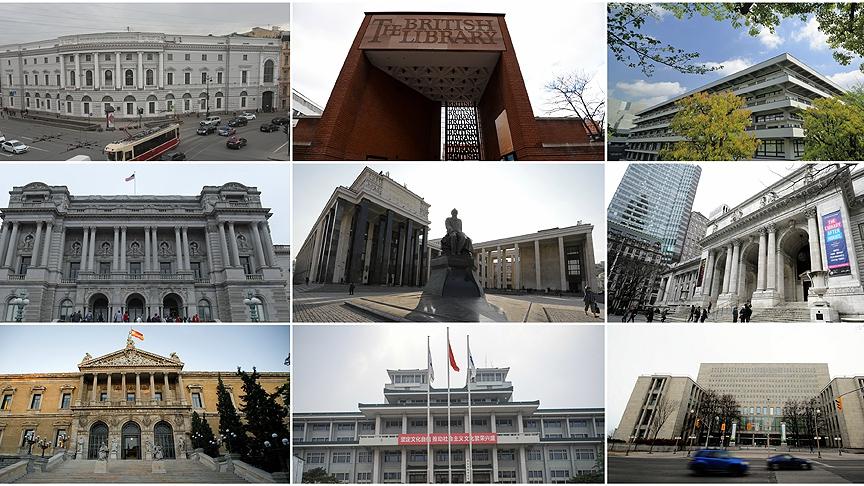 Dünyanın en büyük 10 kütüphanesi 1