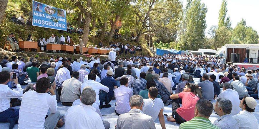 Said Nursi'nin köyü Nurs'ta mevlid buluşması