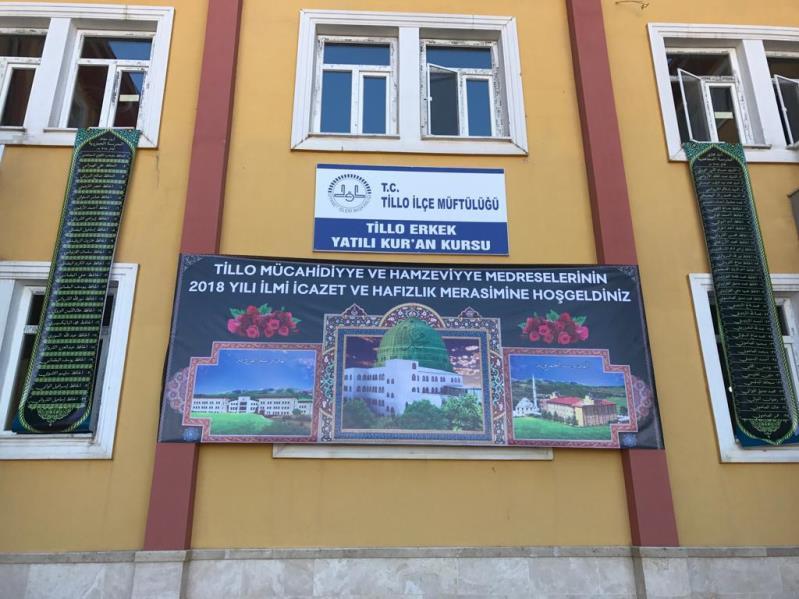Medreseler diyarı Tillo'da icazet programı-2018 1