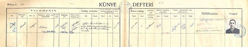73 yıllık belge ilk kez yayınlanıyor: Mustafa Sungur ağabeyin Köy Enstit 1