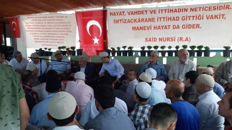 Nur talebeleri Ahmet Feyzi Kul Çamlık Mevlidi'nde buluştu-2019 1