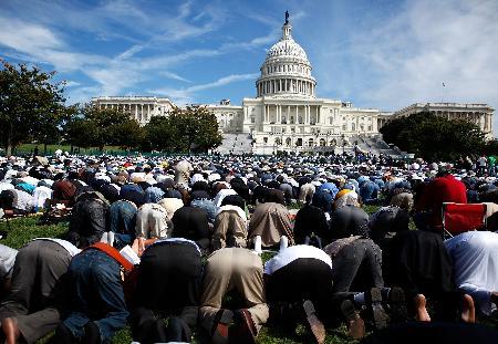 ABD Kongresinde Cuma namazı 10