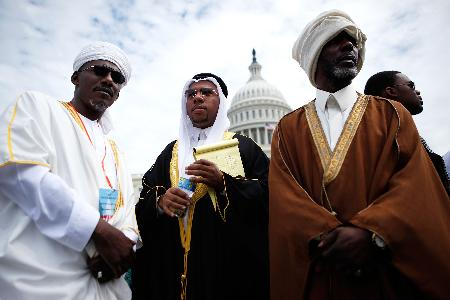 ABD Kongresinde Cuma namazı 11