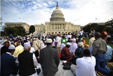 ABD Kongresinde Cuma namazı 15