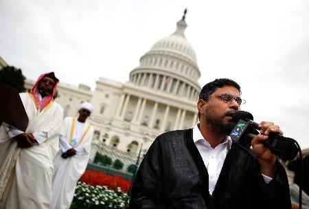 ABD Kongresinde Cuma namazı 9