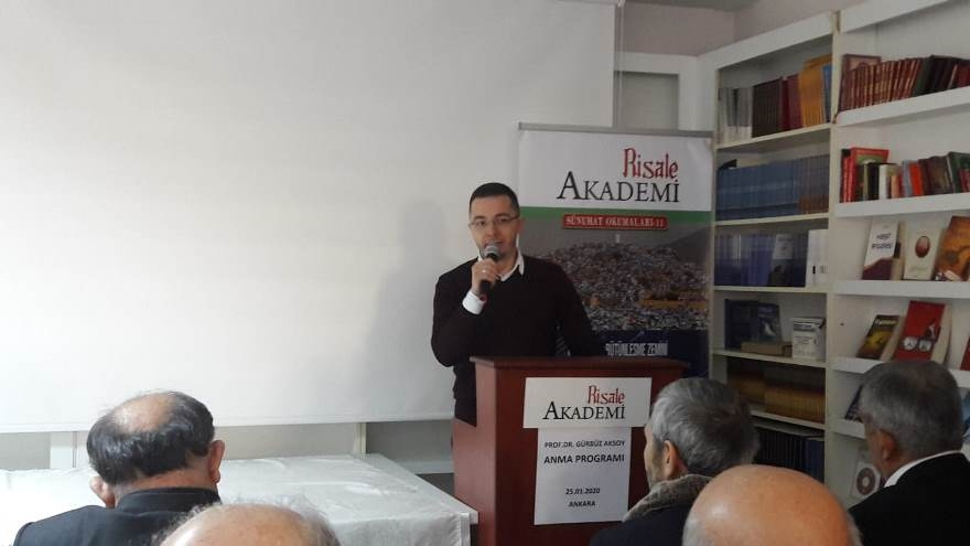 Prof. Dr. Gürbüz Aksoy'u anma programı 1