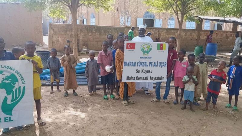 Afrika'da Bediüzzaman'ın talebeleri adına su kuyuları açıldı 1