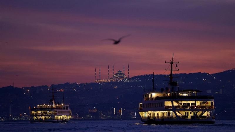 İstanbul'da gün doğumu-3 Ocak 2021 1