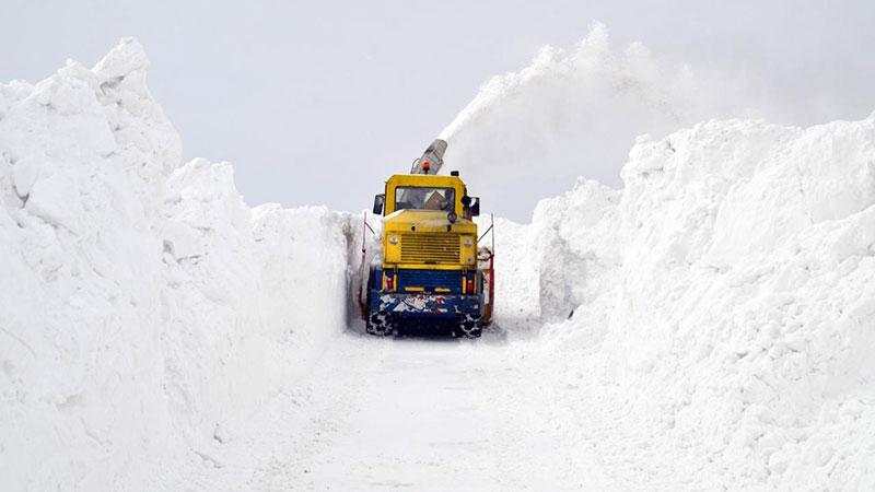 Muş'ta kar kalınlığı 6 metreyi buldu 1
