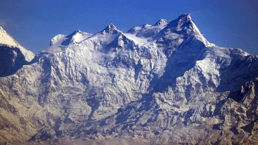 Dünyanın en yüksek dağları Himalayalar uçaktan böyle göründü 1