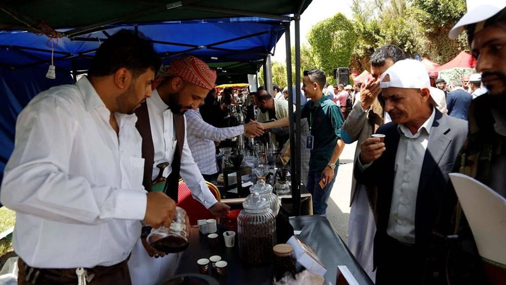 Yemen'de kahve festivali 1