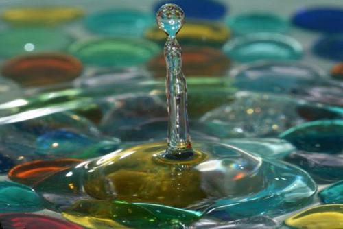 Su damlalarındaki intizam 1