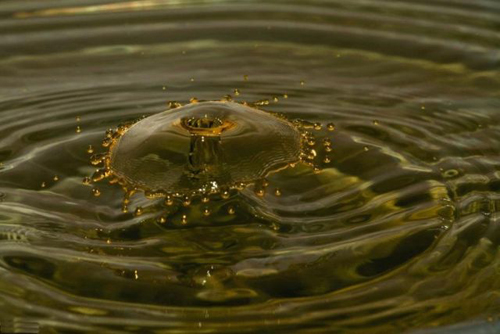 Su damlalarındaki intizam 2