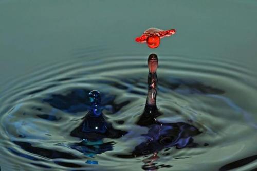 Su damlalarındaki intizam 5
