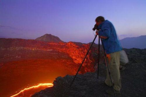 Etiyopya'daki ateş çukuru 15