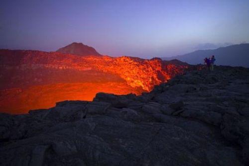 Etiyopya'daki ateş çukuru 16