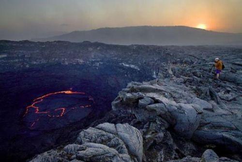 Etiyopya'daki ateş çukuru 5