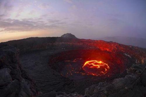 Etiyopya'daki ateş çukuru 6