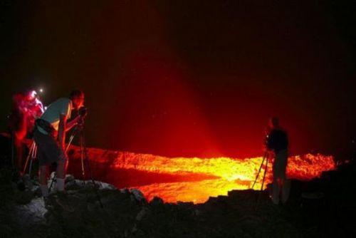 Etiyopya'daki ateş çukuru 7