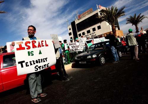 Filistin konvoyundan fotolar 24
