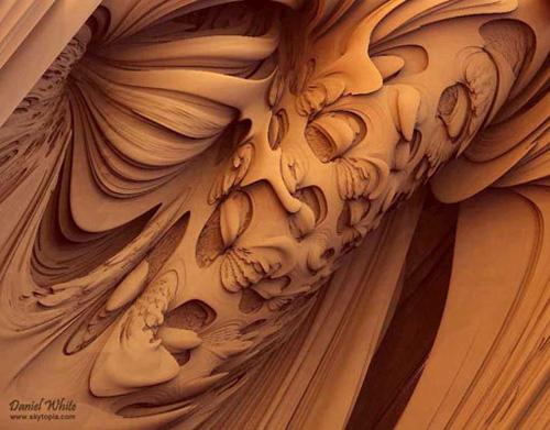 Kırık yüzeylerdeki muhteşem sanat 17