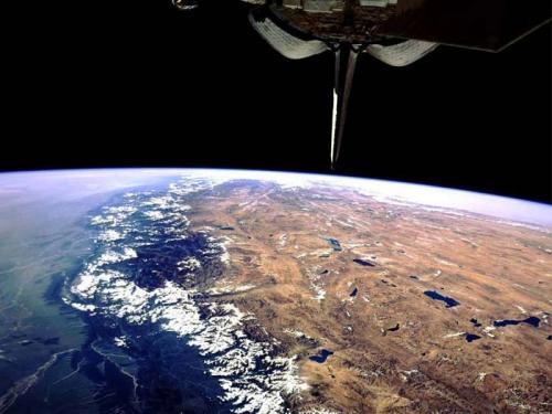 Uzaydan dünyaya bakış 14