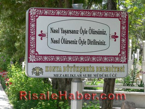 Abdulmecid Nursi'nin kabri 8