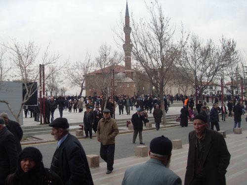 Yenilenen Hacı Bayram Camii 1
