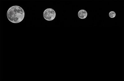 Ay, ilk kez bu kadar yakından geçti 1