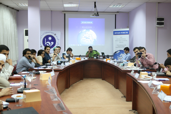 Farklı ülkeden 45 genç İslam birliğini konuştu 1