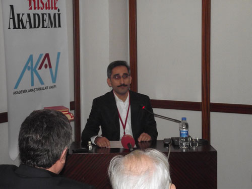 """""""Münazarat Ekseninde Milliyet Fikri ve Demokrasi"""" konferansı 26"""