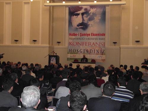 Hutbe-i Şamiye ve İslam Birliği Konferansı 1