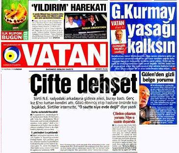 Gazeteler ve andıç 13