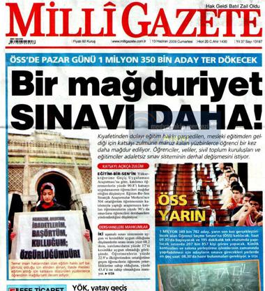 Gazeteler ve andıç 21