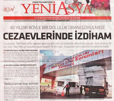 Gazeteler ve andıç 27