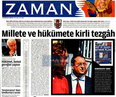 Gazeteler ve andıç 29