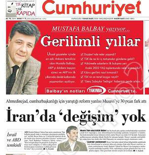 Gazeteler ve andıç 3