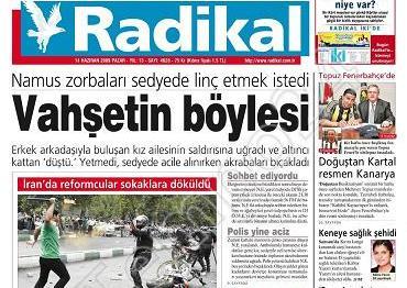 Gazeteler ve andıç 8