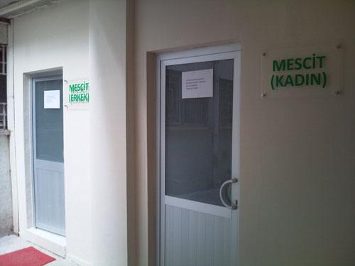 Mersin Üniversitesi mescidi açıldı 1