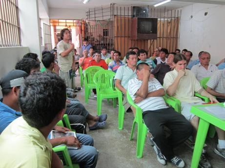 Peru hapishanesinde Risale-i Nur dersi yaptık 3