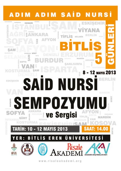 Adım Adım Said Nursi Bitlis Günleri programı 1