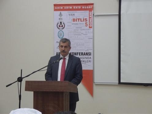 Said Nursi'nin hemşehrileri arama konferansında buluştu 1