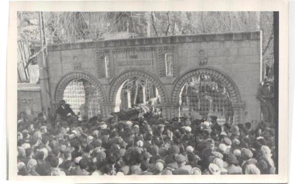 Said Nursi'nin bilinmeyen cenaze fotoğrafları 4