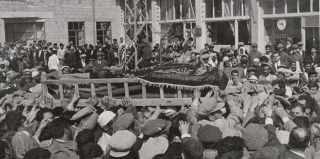 Said Nursi'nin bilinmeyen cenaze fotoğrafları 5