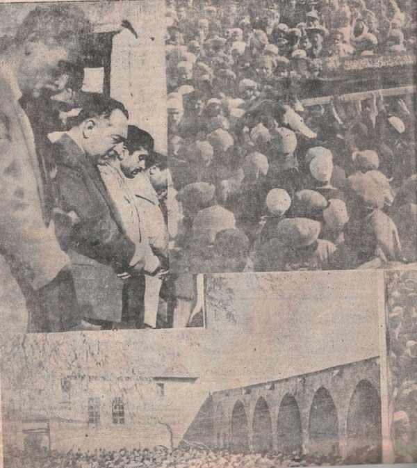 Said Nursi'nin bilinmeyen cenaze fotoğrafları 8
