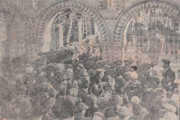 Said Nursi'nin bilinmeyen cenaze fotoğrafları 9